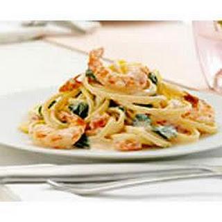 PHILLY Shrimp-in-Love Pasta.