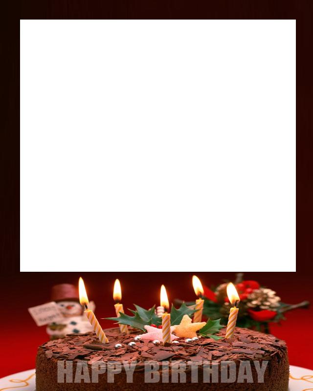 Birthday Cake Photo Frames Online | Frameswalls.org