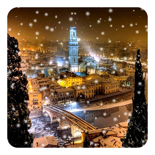 Snow Live Wallpaper: Download Snow Night City Live Wallpaper For PC