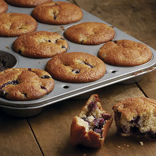 Good-For-You Blueberry Muffins.