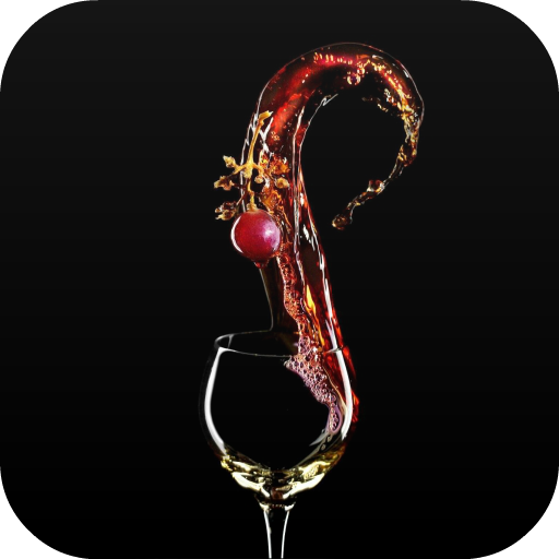 Glass of wine Live Wallpaper