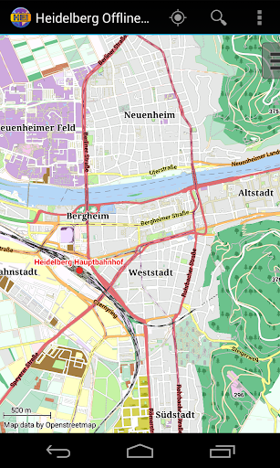 Heidelberg Offline City Map