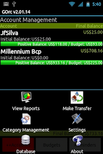 GOrc - Personal Finance - screenshot thumbnail