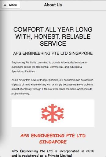 【免費商業App】APS Engineering-APP點子
