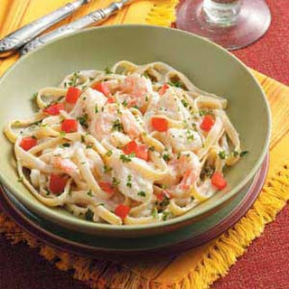 Seafood Fettuccine Alfredo