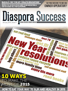 Diaspora Success Magazine- screenshot thumbnail