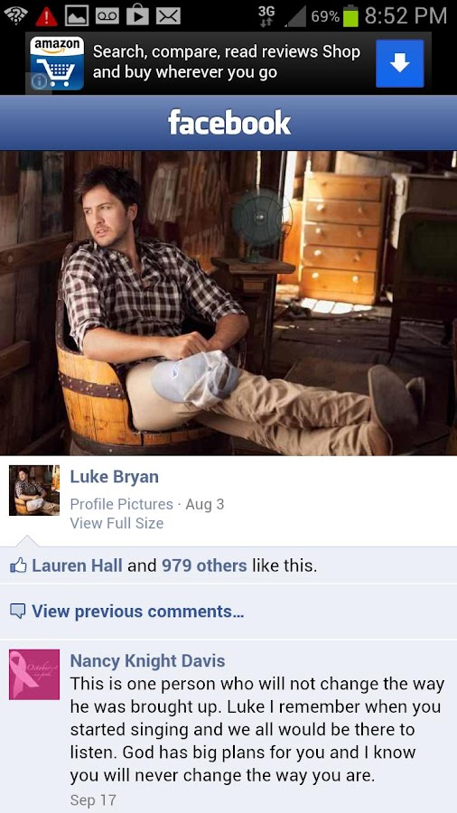 Luke Bryan Fan App - screenshot