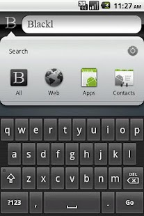 Black Google Search - screenshot thumbnail