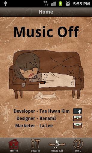 Music Off I\'m Sleeeeping
