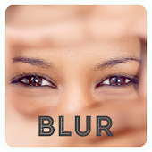 画像を自動で「ぼかし」指でなぞった部分が元に戻る-BLUR-