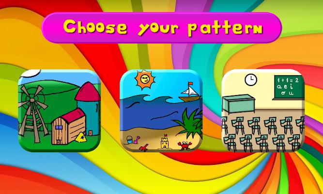 Lucas' Logical Patterns Game - screenshot