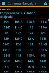 Commute Bangalore screenshot