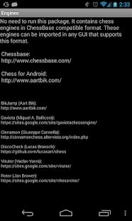 Chess Engines Package- screenshot thumbnail