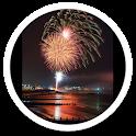 City Fireworks live wallpaper icon