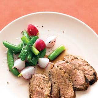 Pork Tenderloin with Soy, Ginger, and Lime.