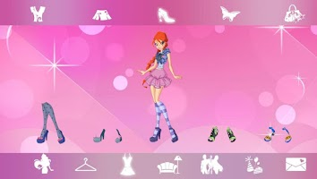 Screenshot of WINX PARTY