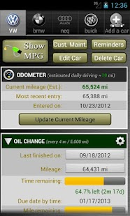 Car Maintenance Reminder Lite- screenshot thumbnail