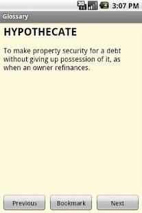 Glossary of Real Estate Terms- screenshot thumbnail