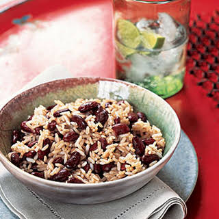 Classic Jamaican Rice and Peas.