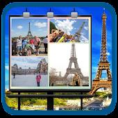 Paris Travelling Collage Frame