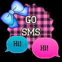 GO SMS - Sassy Bows 2 icon