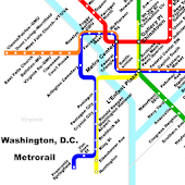 Washington D.C. METRORAIL HD
