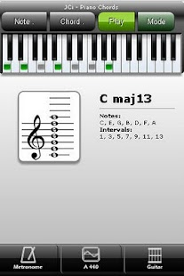 JCi Piano Chords - screenshot thumbnail