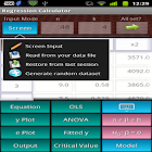 Regression Calculator icon
