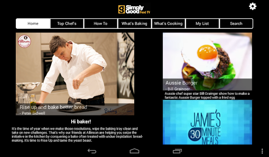 Simply Good Food TV- screenshot thumbnail
