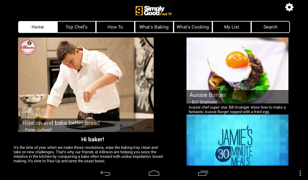 Simply Good Food TV- screenshot