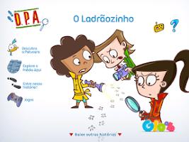 Screenshot of DPA: O Ladrãozinho