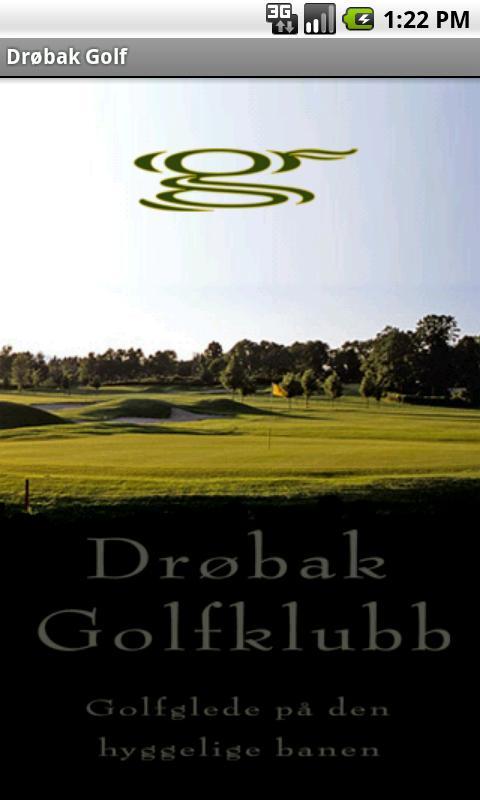 Drøbak Golf- screenshot