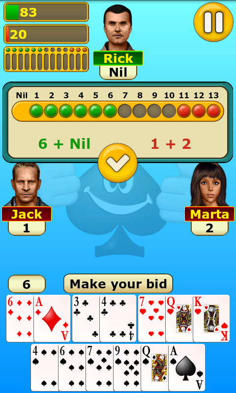 Spades - screenshot