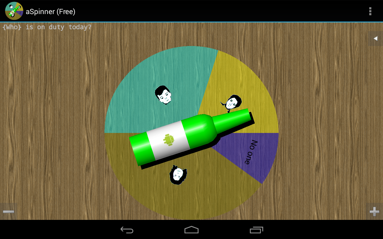 a Spinner, spin bottle (Free)- screenshot
