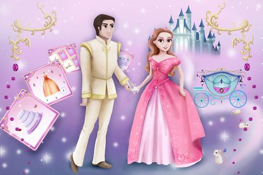 Cinderella Story Fun Educational Girls Games 1.4.0 Screenshots 1