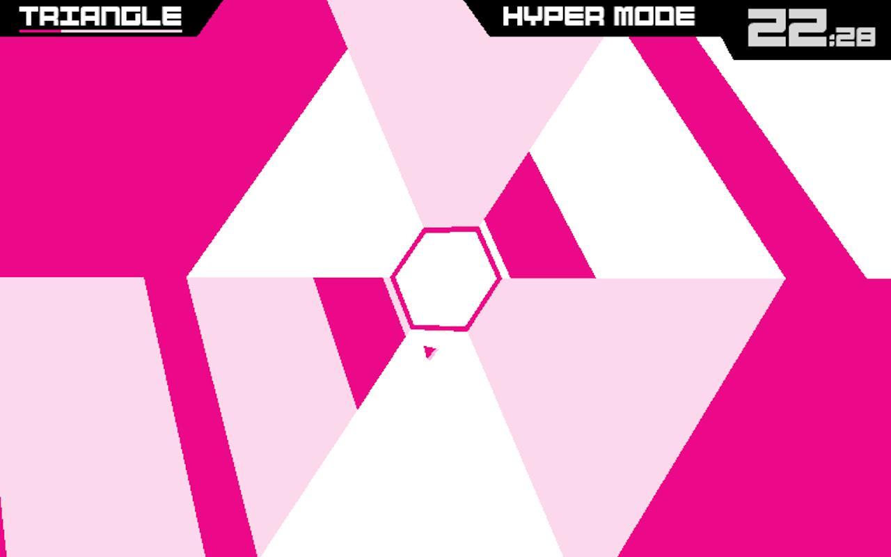 Super Hexagon screenshot #2