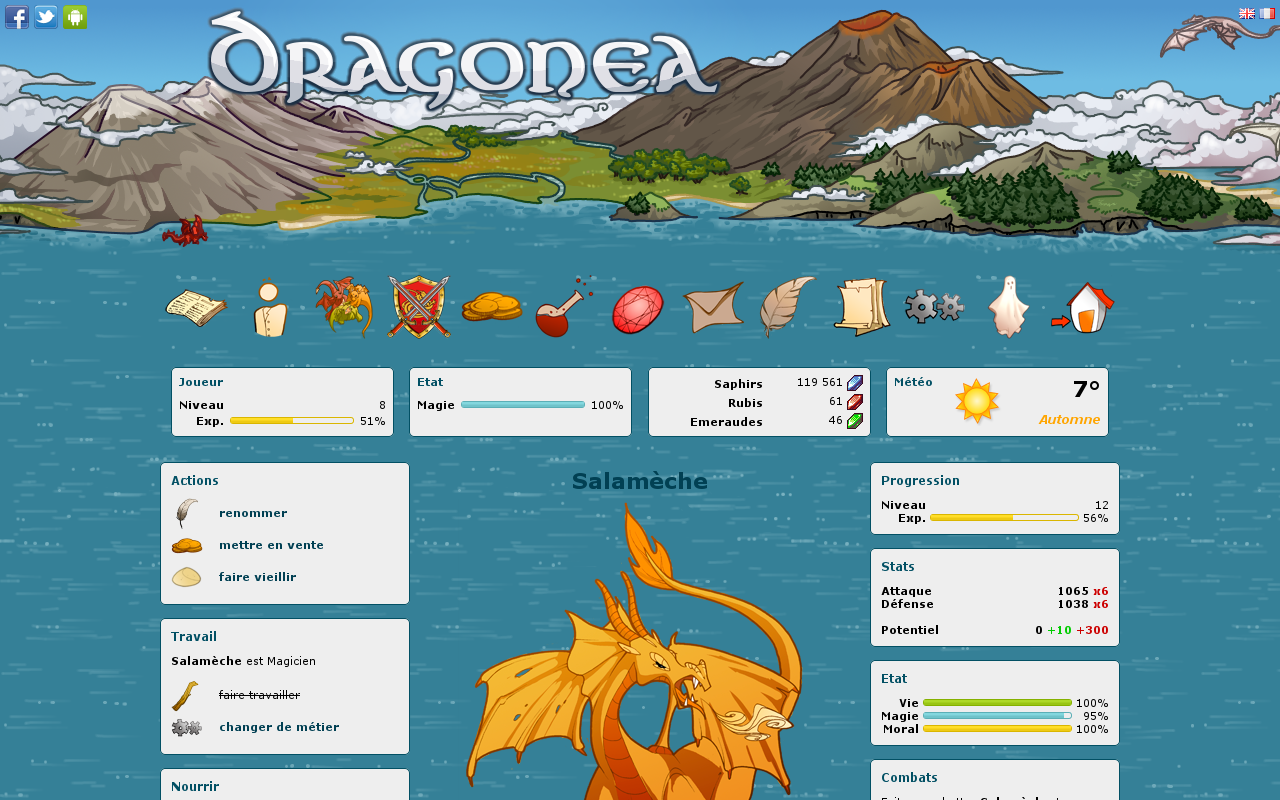 Dragonea- screenshot