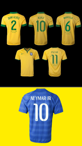 Brazil 2014 Jersey Pack- uccw