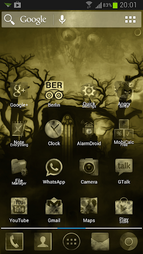Dark Yellow Fog Mystery Theme
