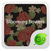 GO Keyboard blooming flowers