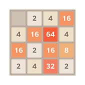 Numbers Puzzle Game 2048