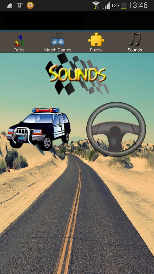 fun car games for kids free screenshot