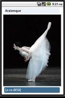 Screenshot of Ballet