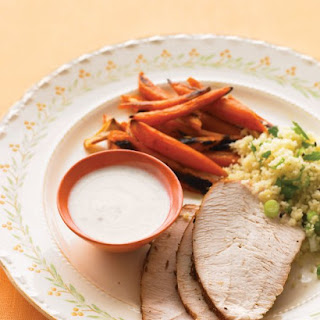 Spice-Rubbed Turkey Breast with Roasted Carrots Recipe