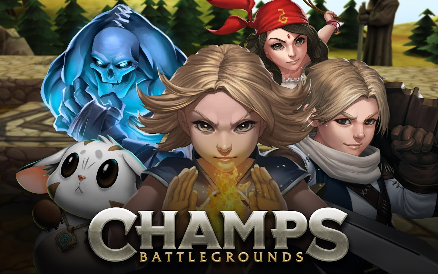 Champs: Battlegrounds - screenshot