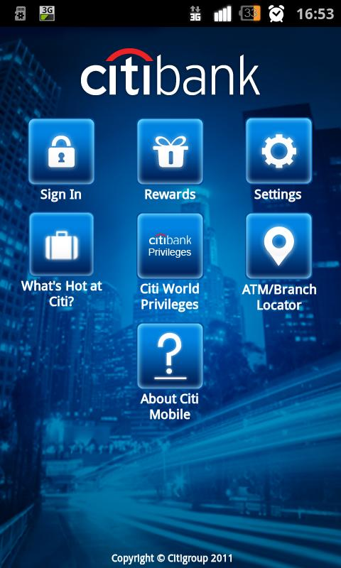 Citibank Indonesia - screenshot