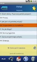 Screenshot of Włoski - Ucz się i rozmawiaj