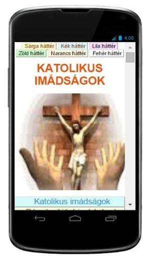 Katolikus imádságok - KATIMA