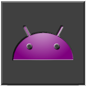 Purple Glow Icon Theme