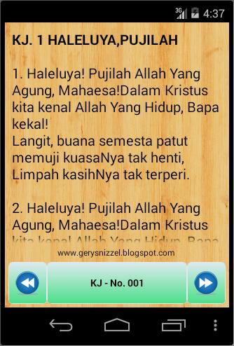 Screenshots of Kidung Jemaat for iPhone